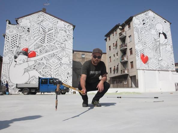Intervista a Millo, l'artista mesagnese che dà vita ai muri