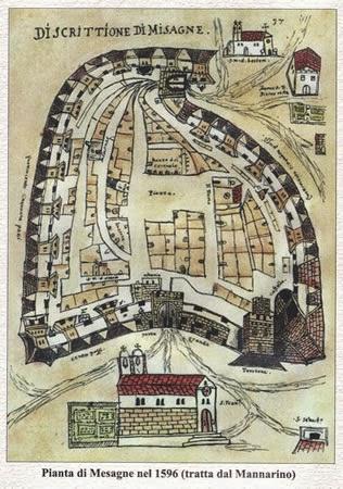 Risultato immagini per centro storico mesagne