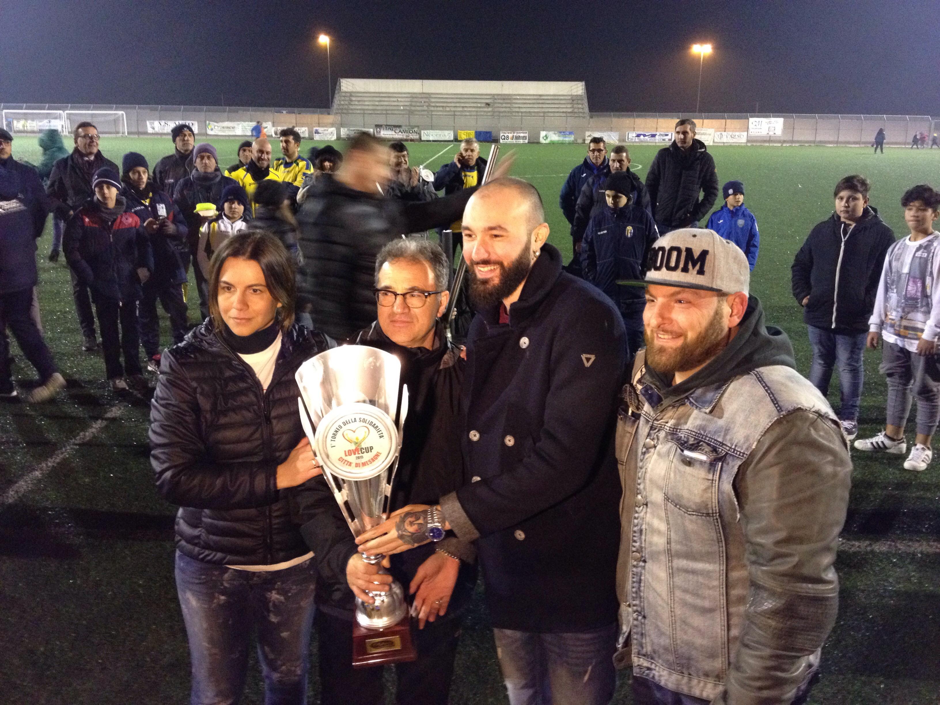 La solidarietà dei mesagnesi vince la Love Cup 2015