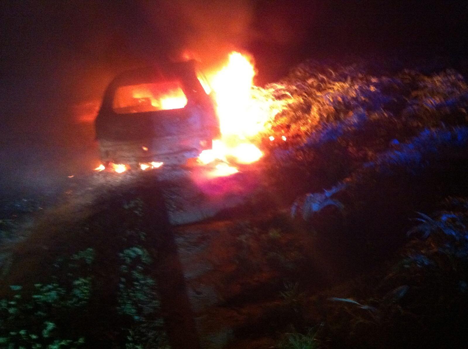 Incendiata l'auto di un agricoltore