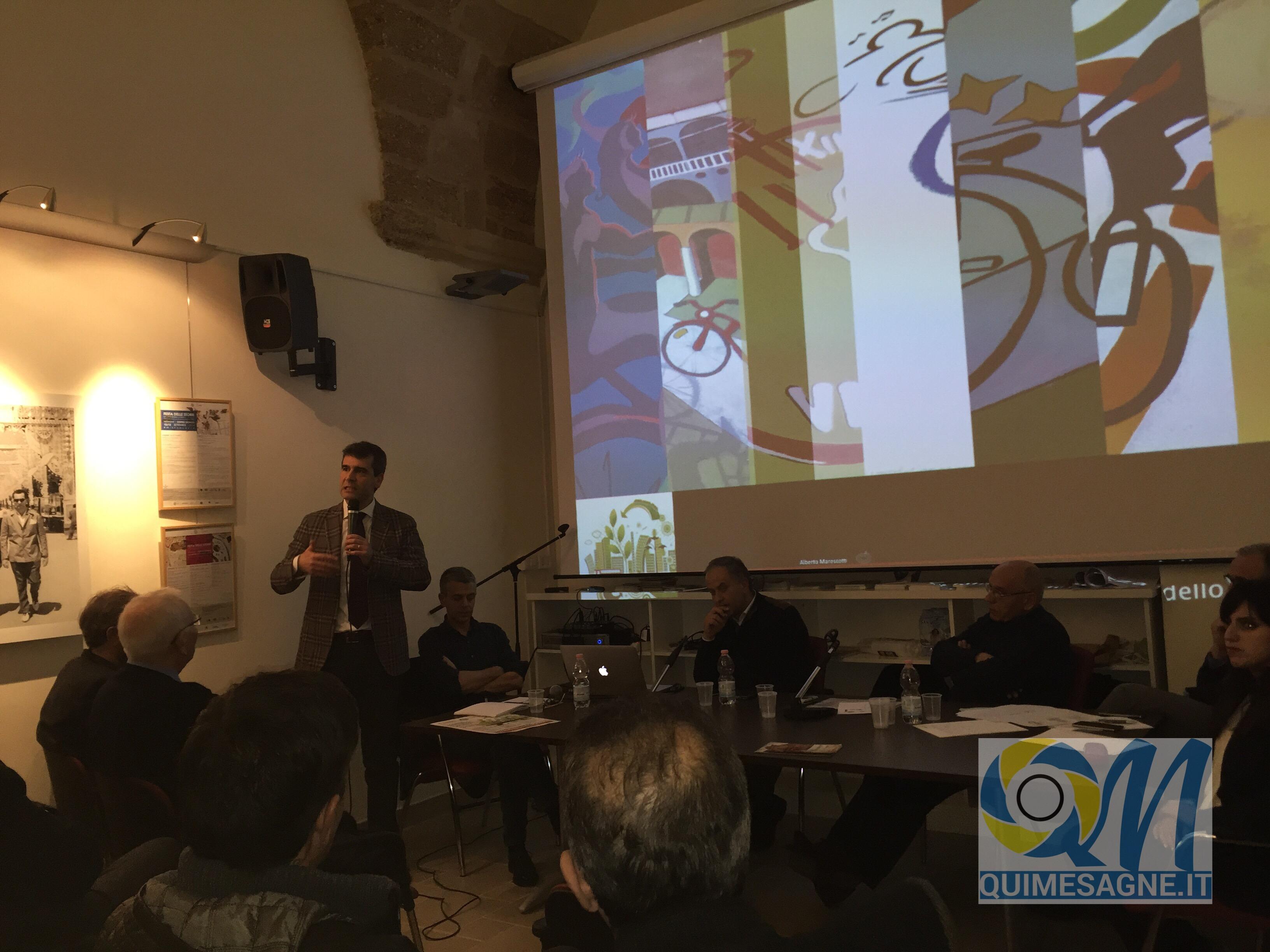 Mobilità sostenibile e sicurezza stradale, un disegno per Mesagne – riguarda il video della serata