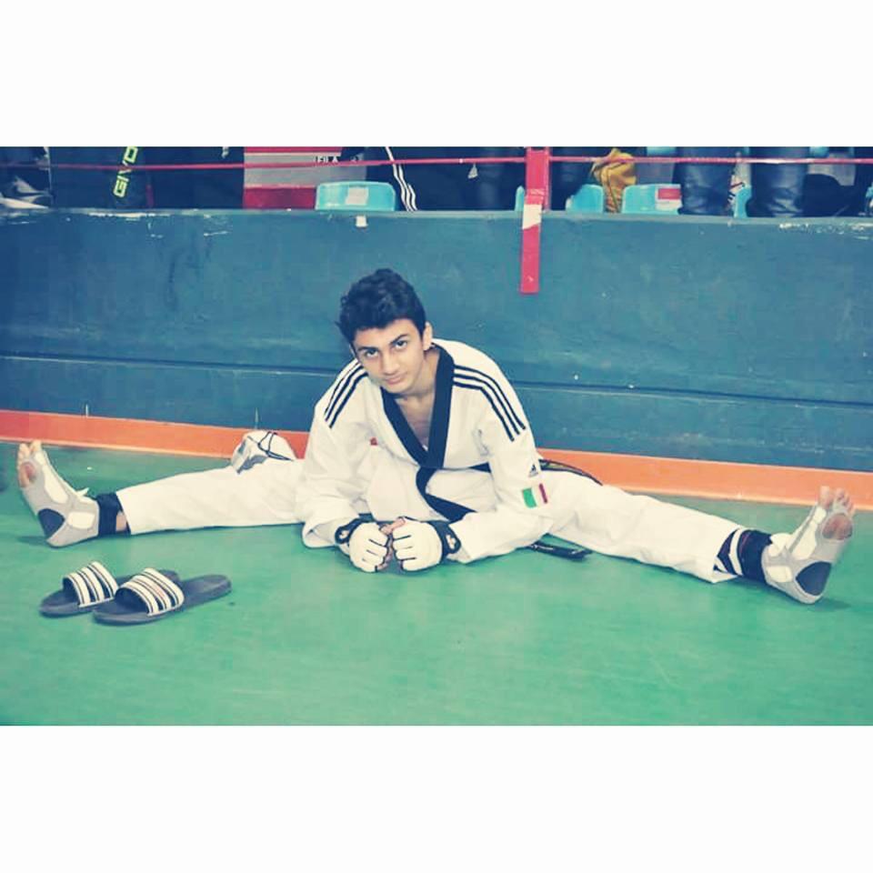 Vito Dell'Aquila è il nuovo campione italiano juniores di Taekwondo