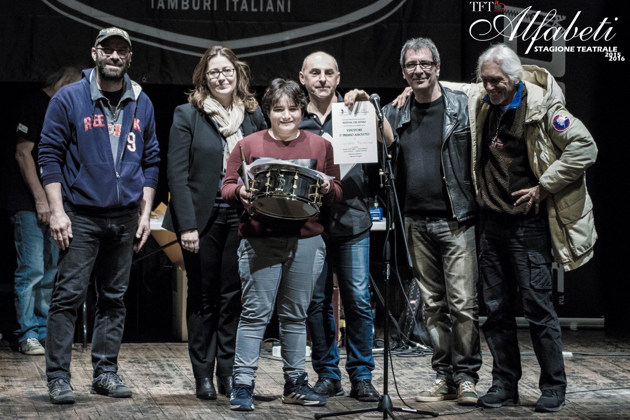 Giovanni Facecchia vince al Festival del Ritmo di Novellara