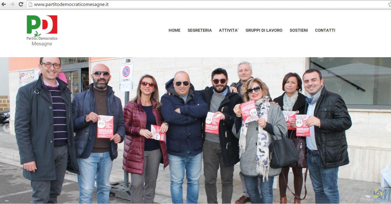 """Esclusione progetto Eurovelo 5, PD Mesagne: """"A peggio non c'è mai fine"""""""
