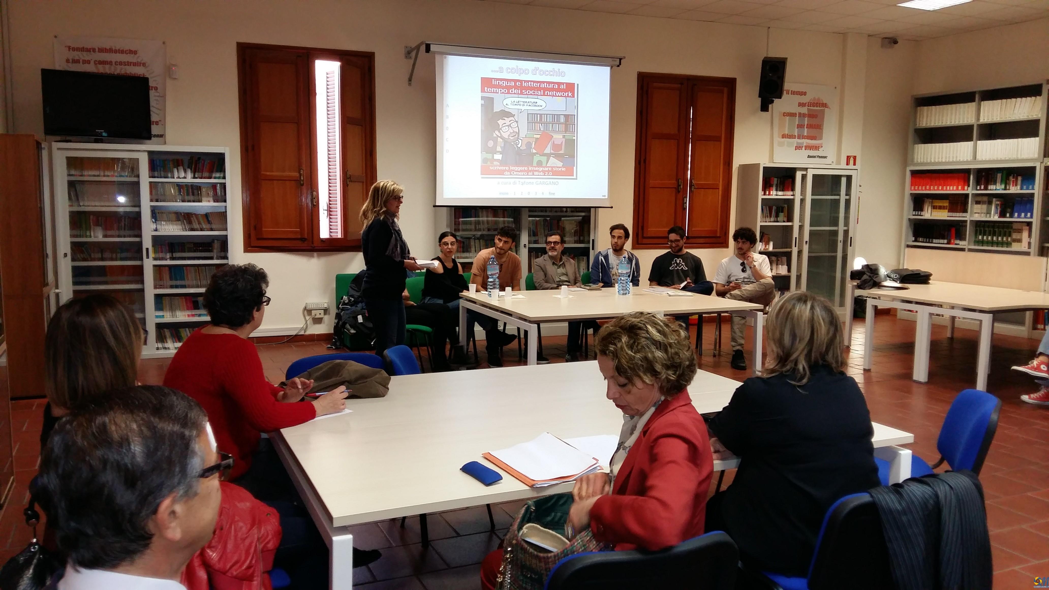 L'Associazione Chaos e il confronto con il prof. Trifone Gargano