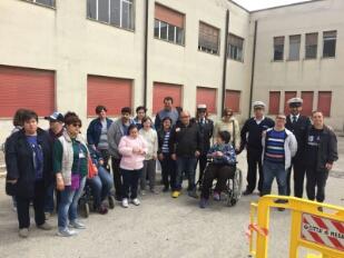 Polizia Municipale, educazione stradale per disabili