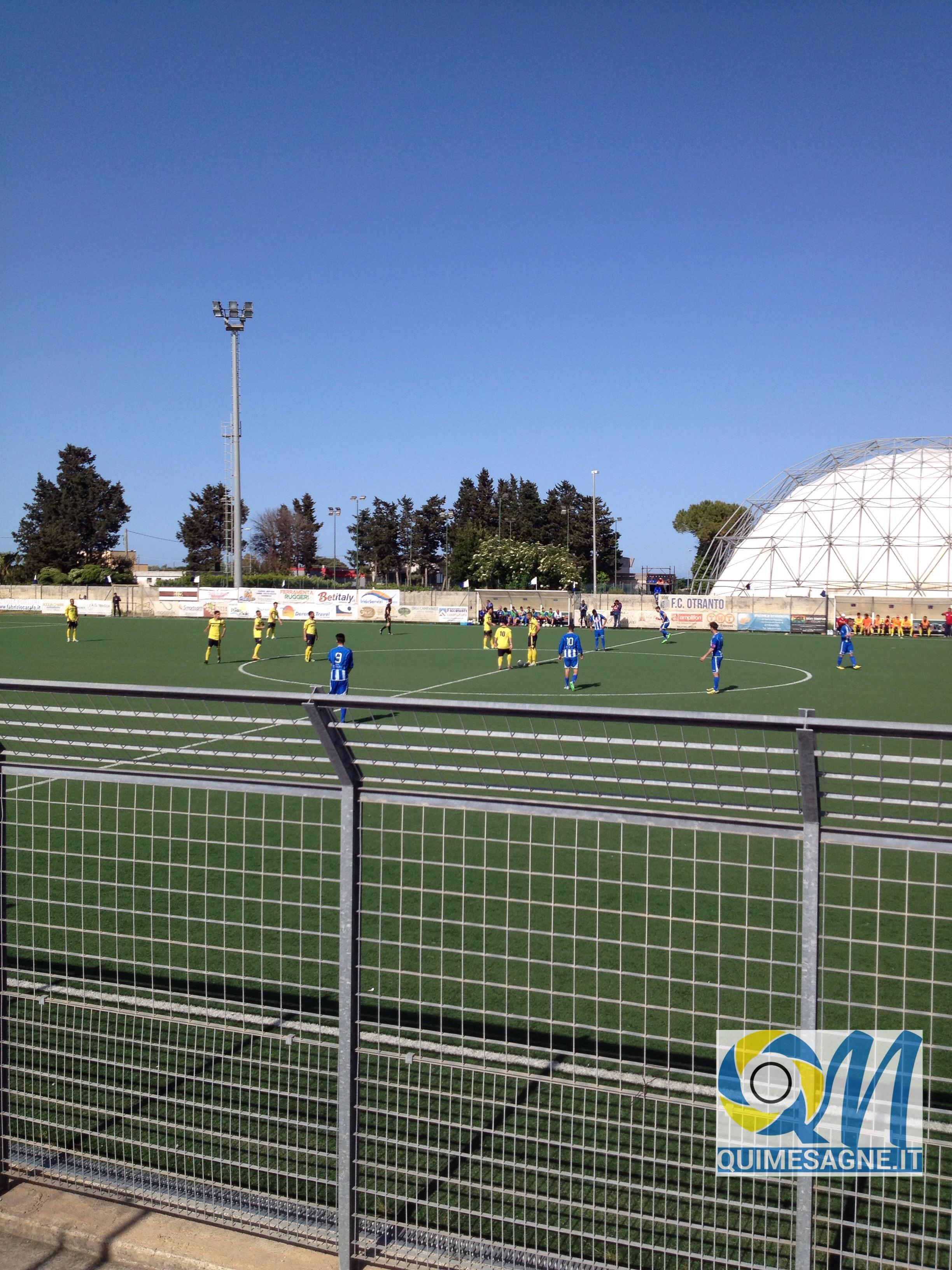 Mesagne pareggia ad Otranto, e domenica ritorna a disputare la finale playout.
