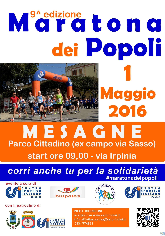 il 1° Maggio torna la Maratona dei Popoli