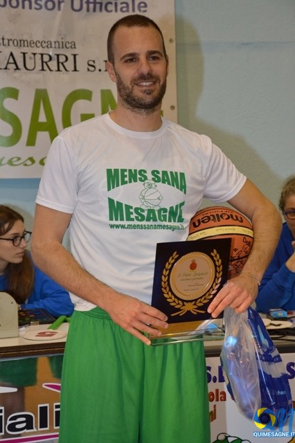 Mens Sana Mesagne batte il Basket Calimera per 80 a 69