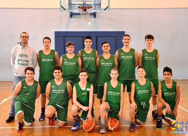 Basket, a Mesagne le finali regionali under 14