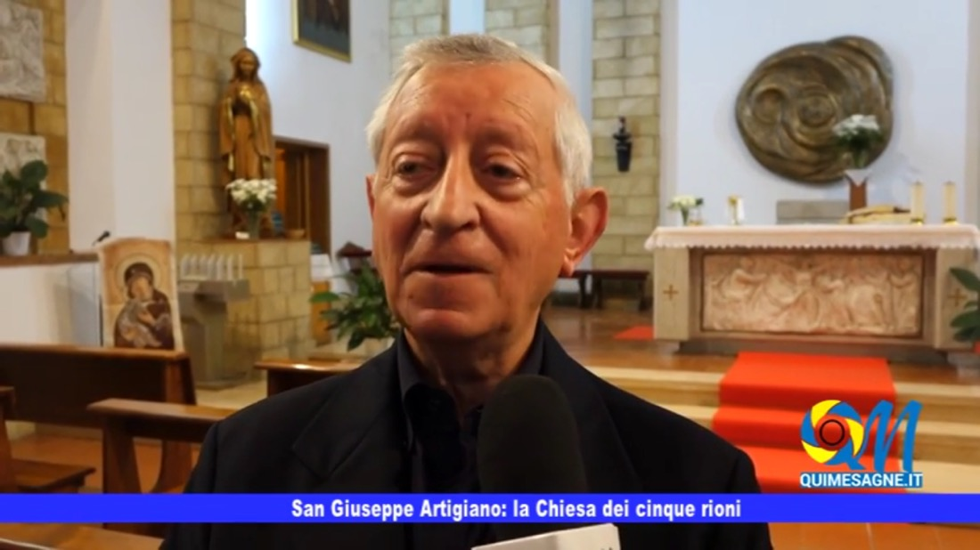 San Giuseppe Artigiano – la Chiesa dei cinque rioni