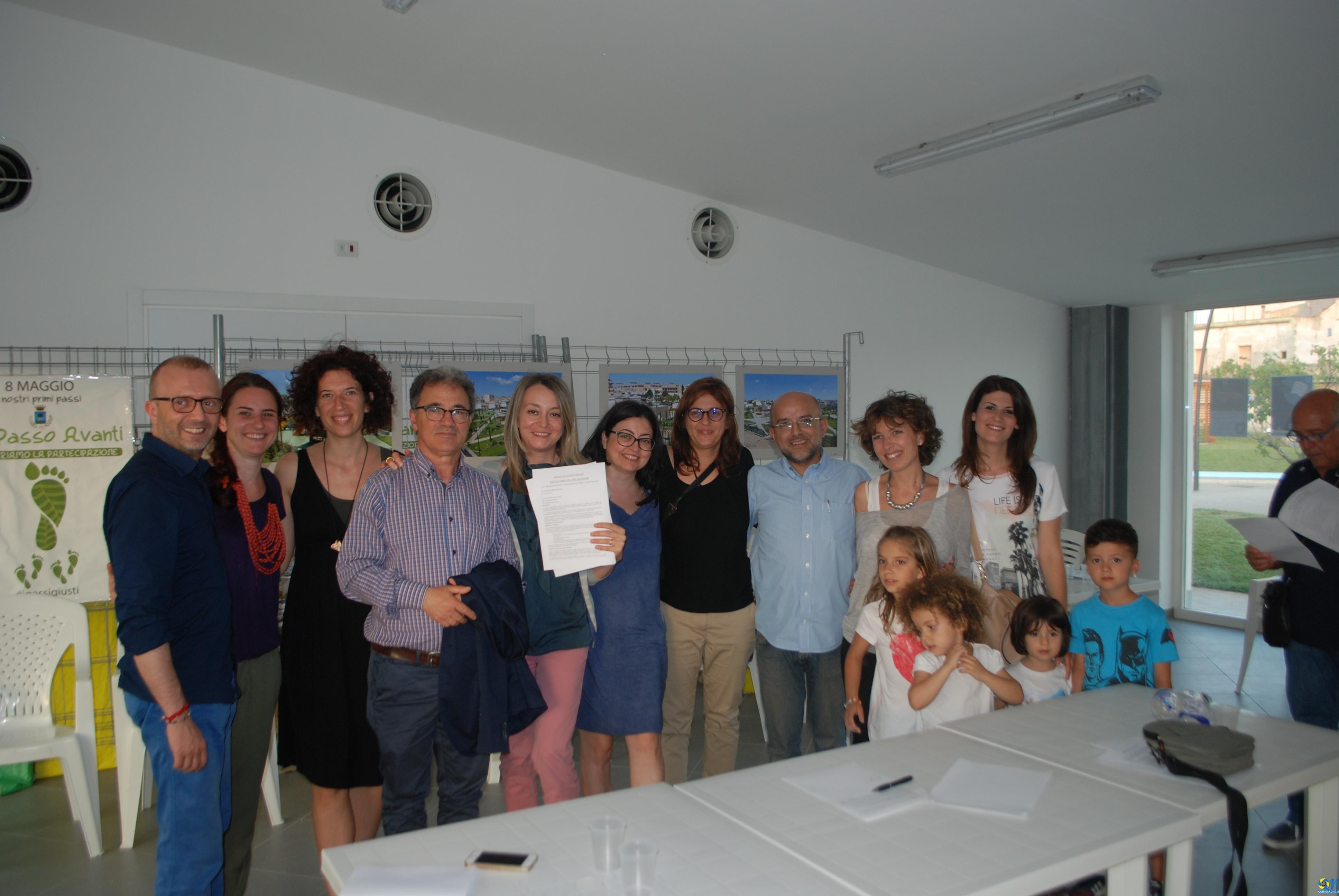 Sottoscritti i Patti di collaborazione tra Amministrazione e Cittadini