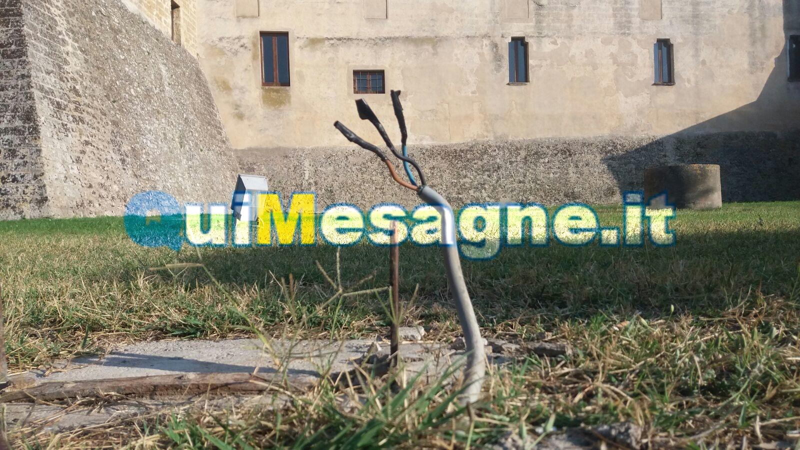 UFFICIO RECLAMI – Attenzione ai quei cavi elettrici nel prato del Castello