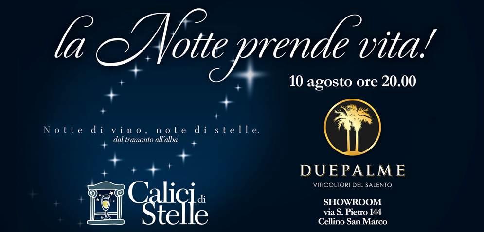 Il 10 Agosto si inaugura il lounge bar a Cantine Due Palme