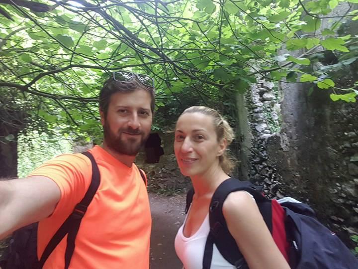 Filippo e Monica a piedi sull'Appia. Il 17 Agosto a Mesagne. Chi li può ospitare?