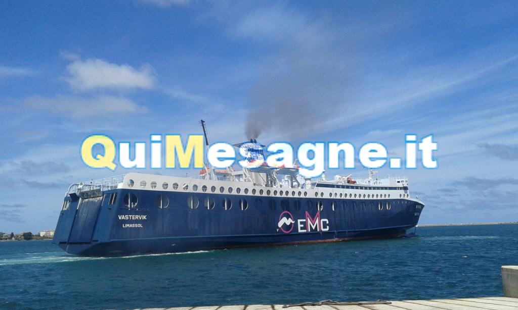 Grecia, ci sono anche dei mesagnesi sulla nave bloccata a Corfù