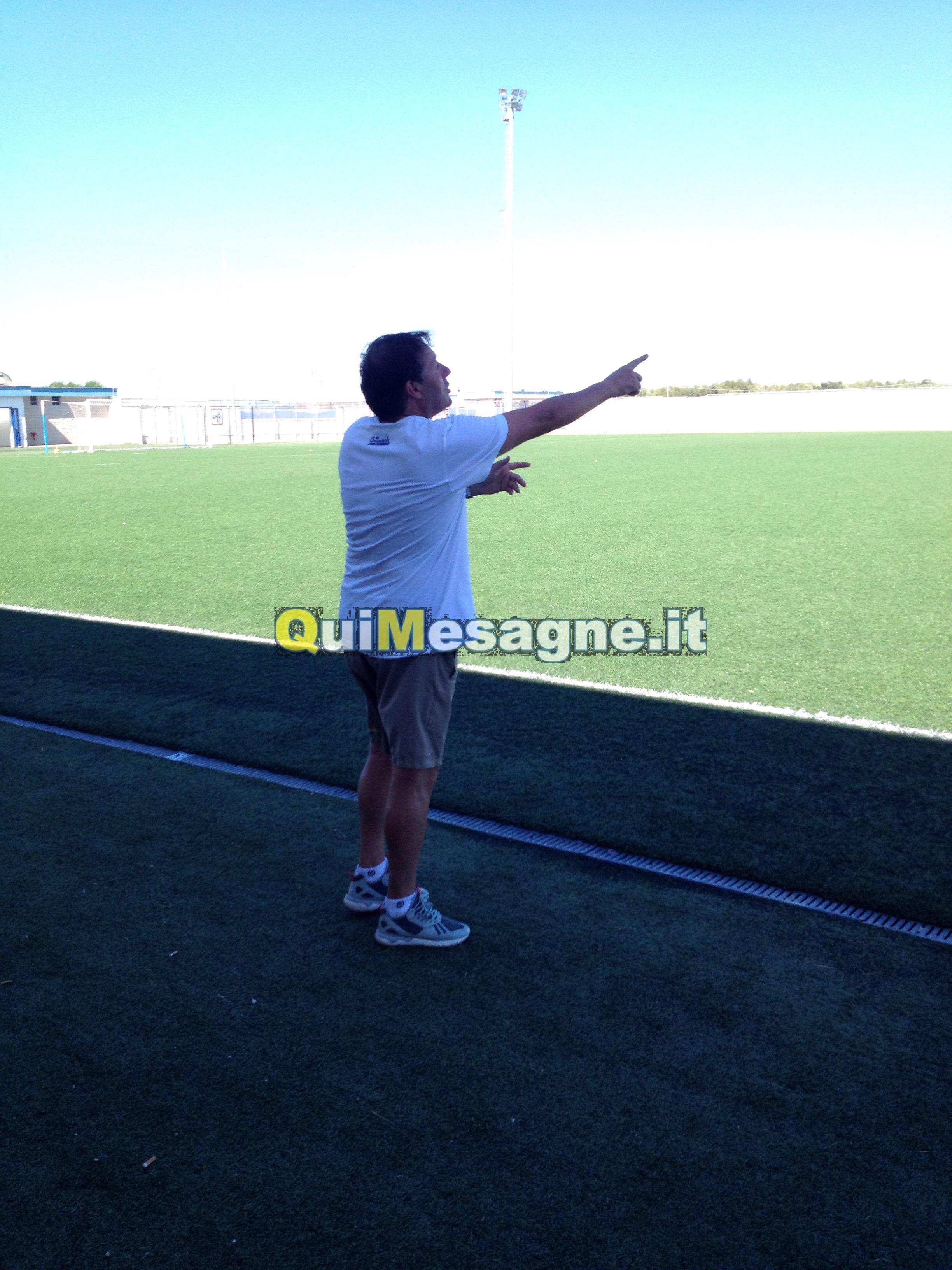 Mesagne calcio, Gianni Danieli non è più l'allenatore dei gialloblù.