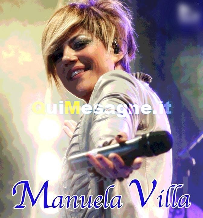 Domani sera 4 Agosto arriva Manuela Villa in piazza Orsini
