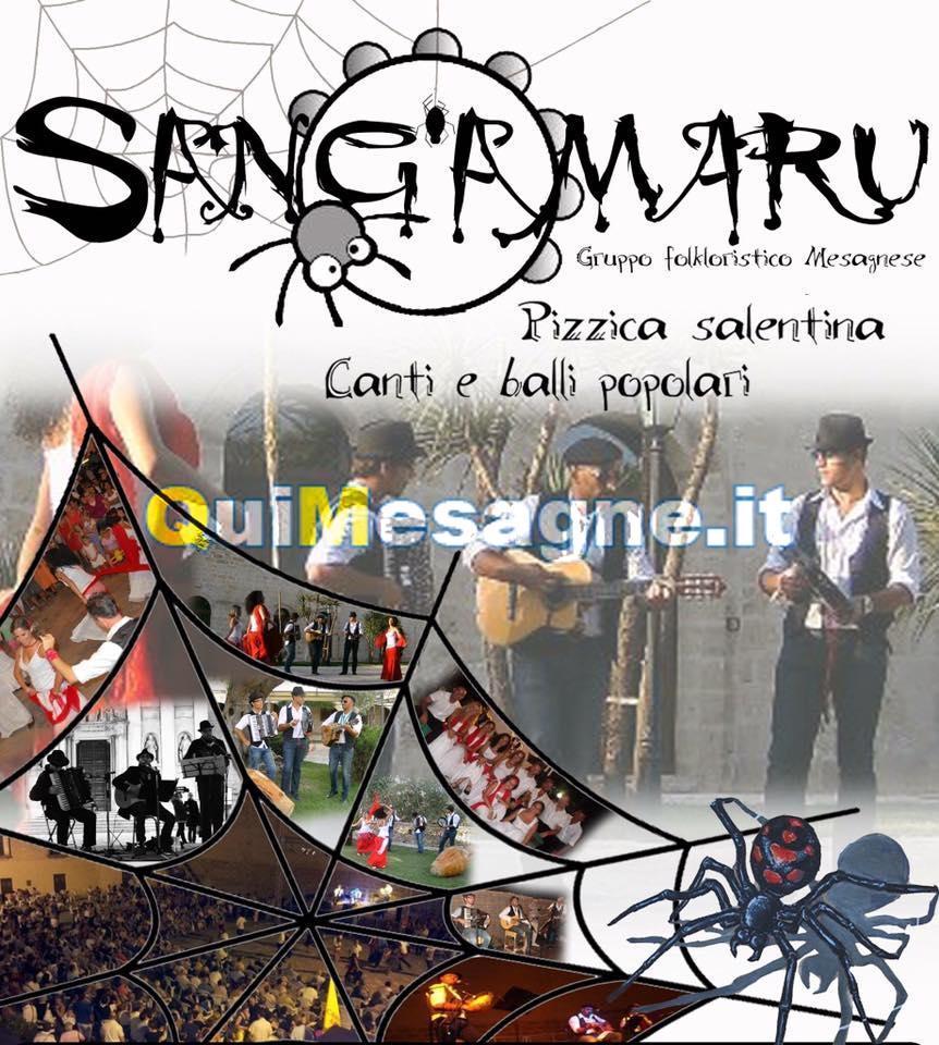 """Domenica 21 agosto a """"La Manovella"""" ci sono i Sang'amaru"""