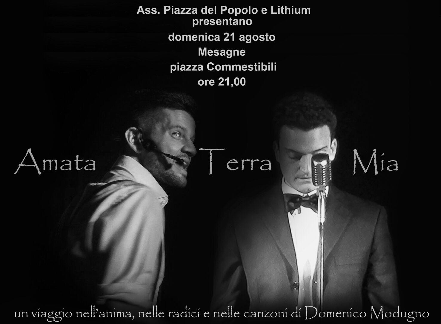 Questa sera in Piazza Commestibili si canta con Domenico Modugno