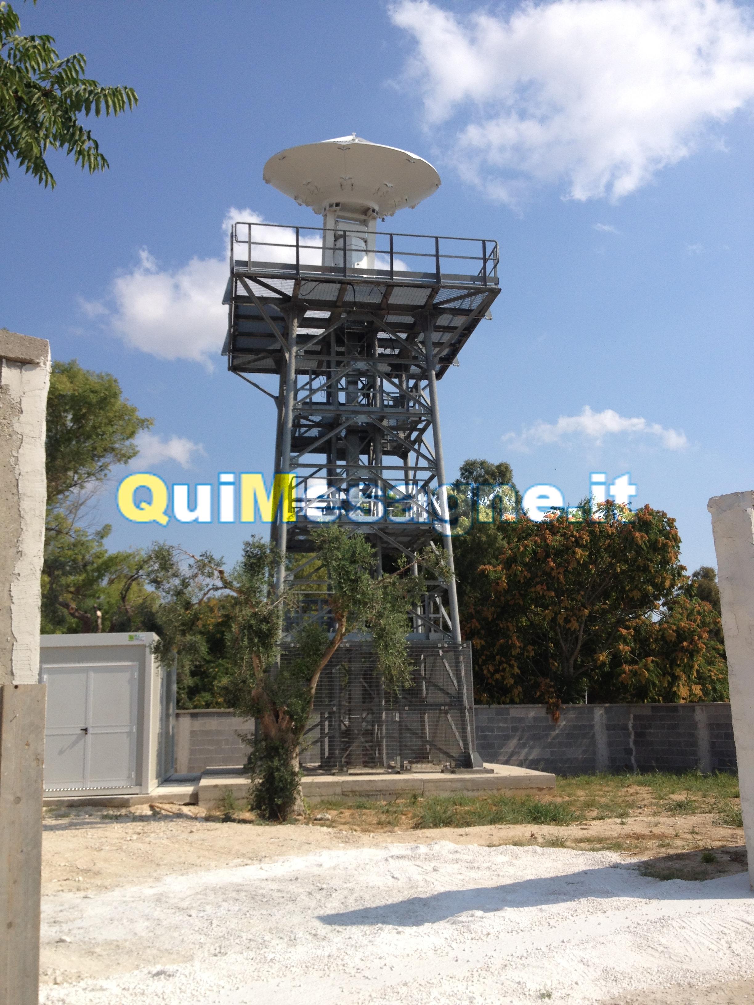 Il radar Nowcasting non funziona ancora, Franco Prodi arriva a Mesagne