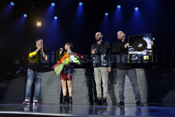 I Boomdabash a Bari sul palco di Alessandra Amoroso