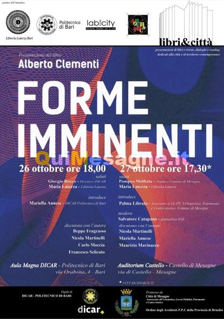 """Questa sera al Castello si presenta il libro """"Forme Imminenti"""""""