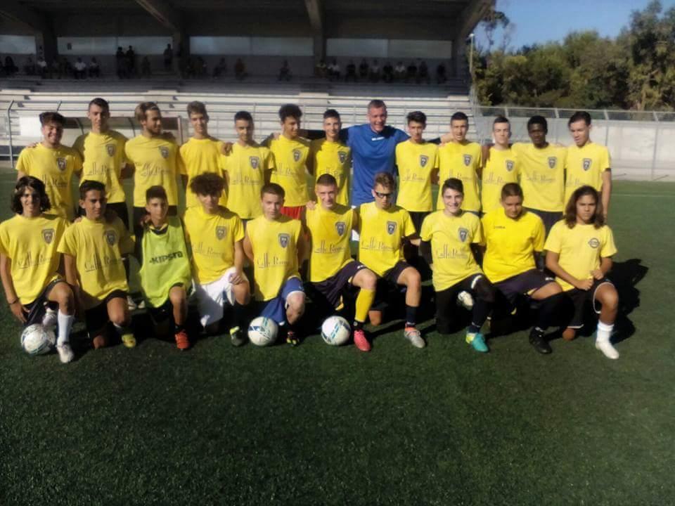 Calcio allievi regionali, pareggio tra SS. Annuziata e Francavilla