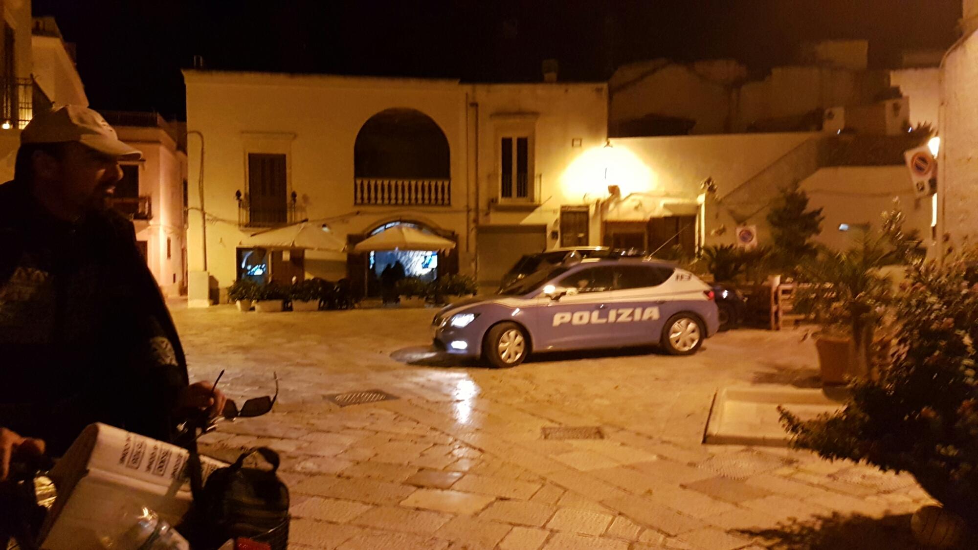 È mistero per una presunta rissa nel centro storico di Mesagne