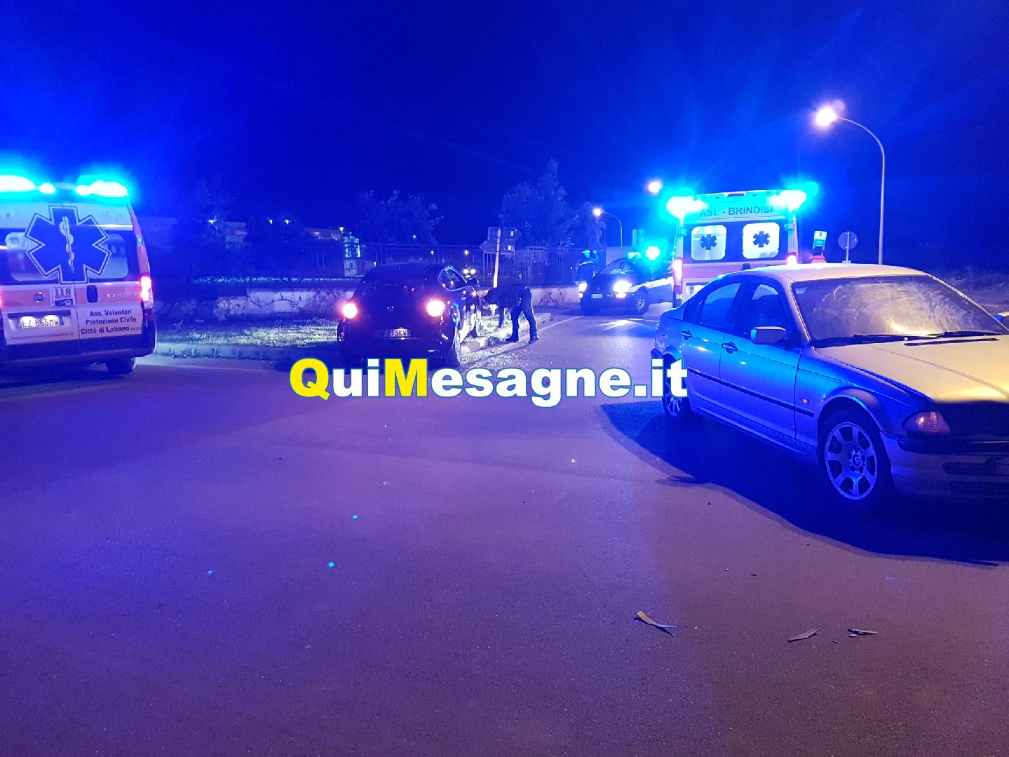 Incidente dietro all'ex convento dei Cappuccini, due i feriti