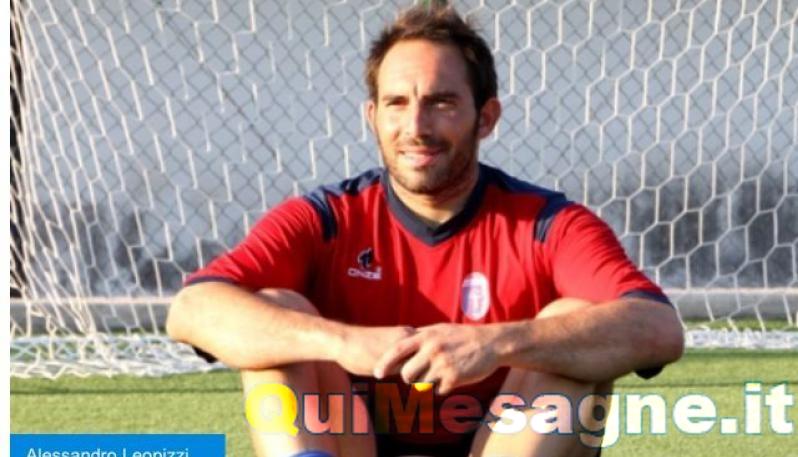 Il Mesagne Calcio sceglie l'esperienza di Alessandro Leopizzi
