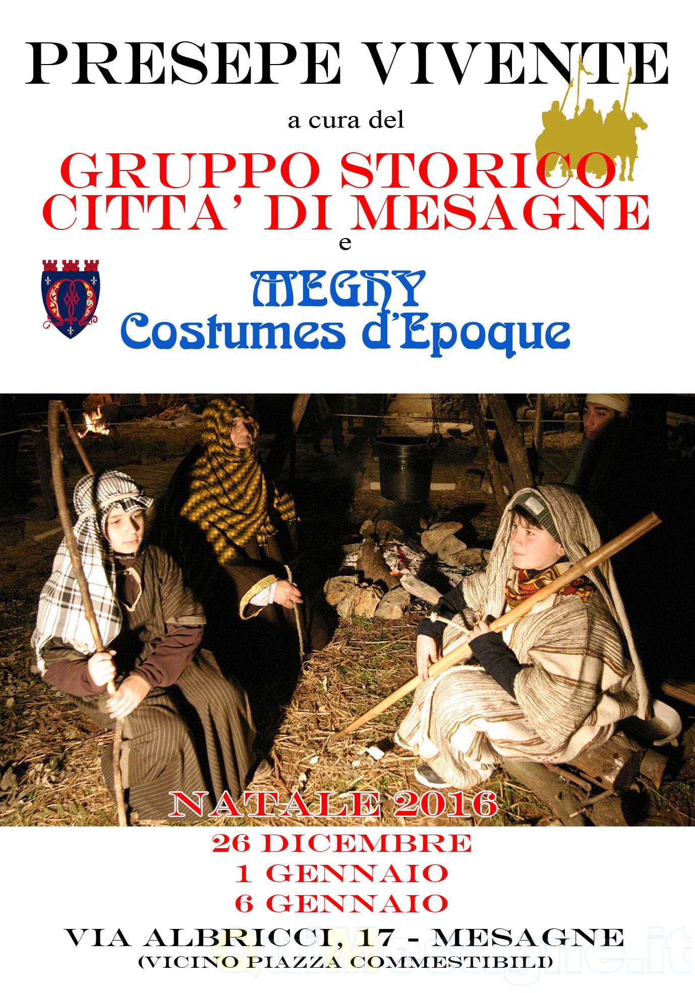 Stasera 26 dicembre apertura Presepe vivente, si replica l'1 e il 6 Gennaio