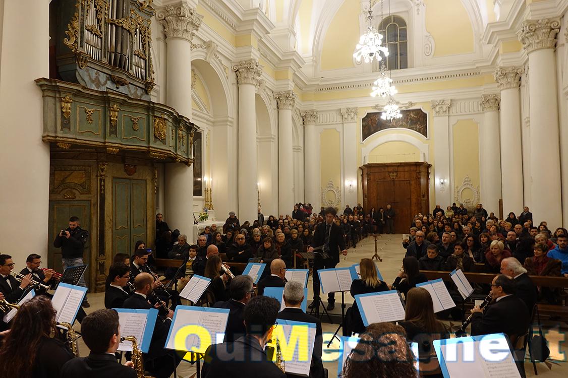 """In Chiesa Madre il """"Concerto di Natale"""" a cura della Banda Fasano-Leo"""