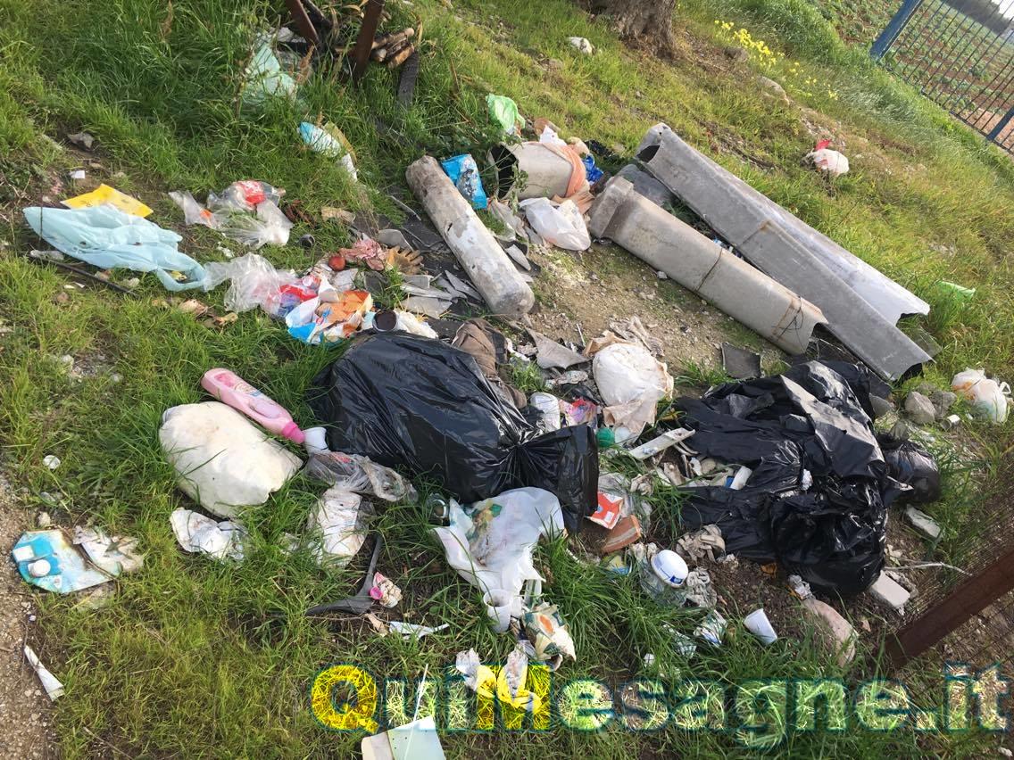 UFFICIO RECLAMI – Mesagnesi fermiamo il fenomeno dell'abbandono dei rifiuti nelle campagne