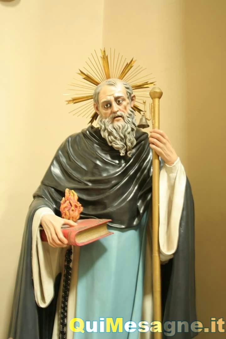 Nella Chiesa dei Domenicani i festeggiamenti per Sant'Antonio Abate
