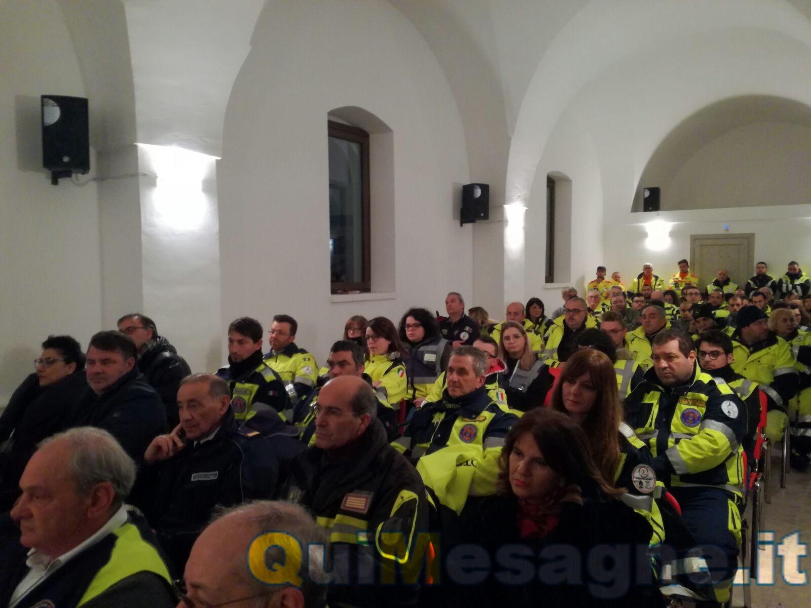 Protezione civile, potenziate attrezzature provinciali e premiati i volontari di Mesagne