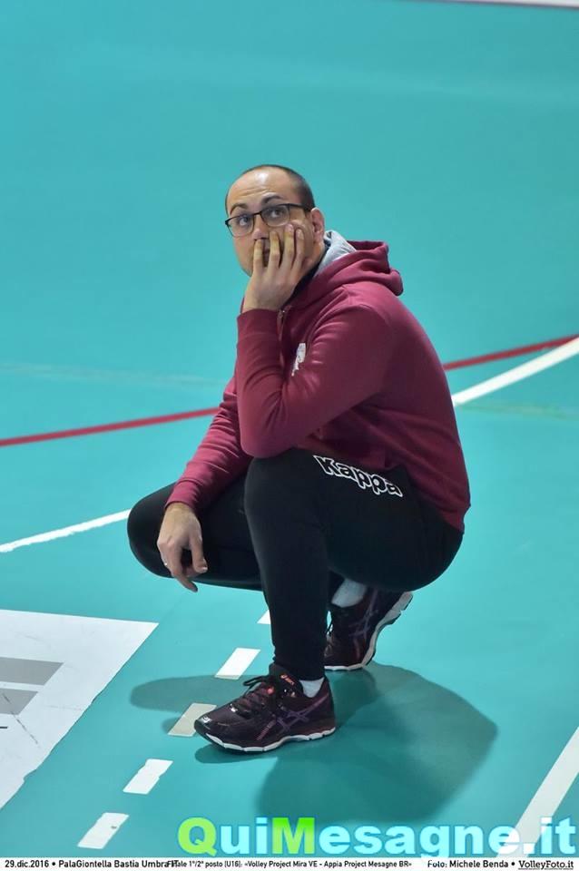 Mesagne Volley, Simone Giunta confermato alla guida delle gialloblu