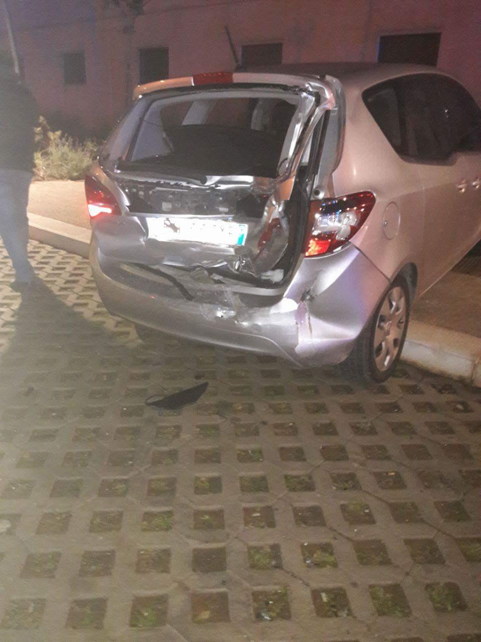 Incidente tra via Sasso e via Basilicata