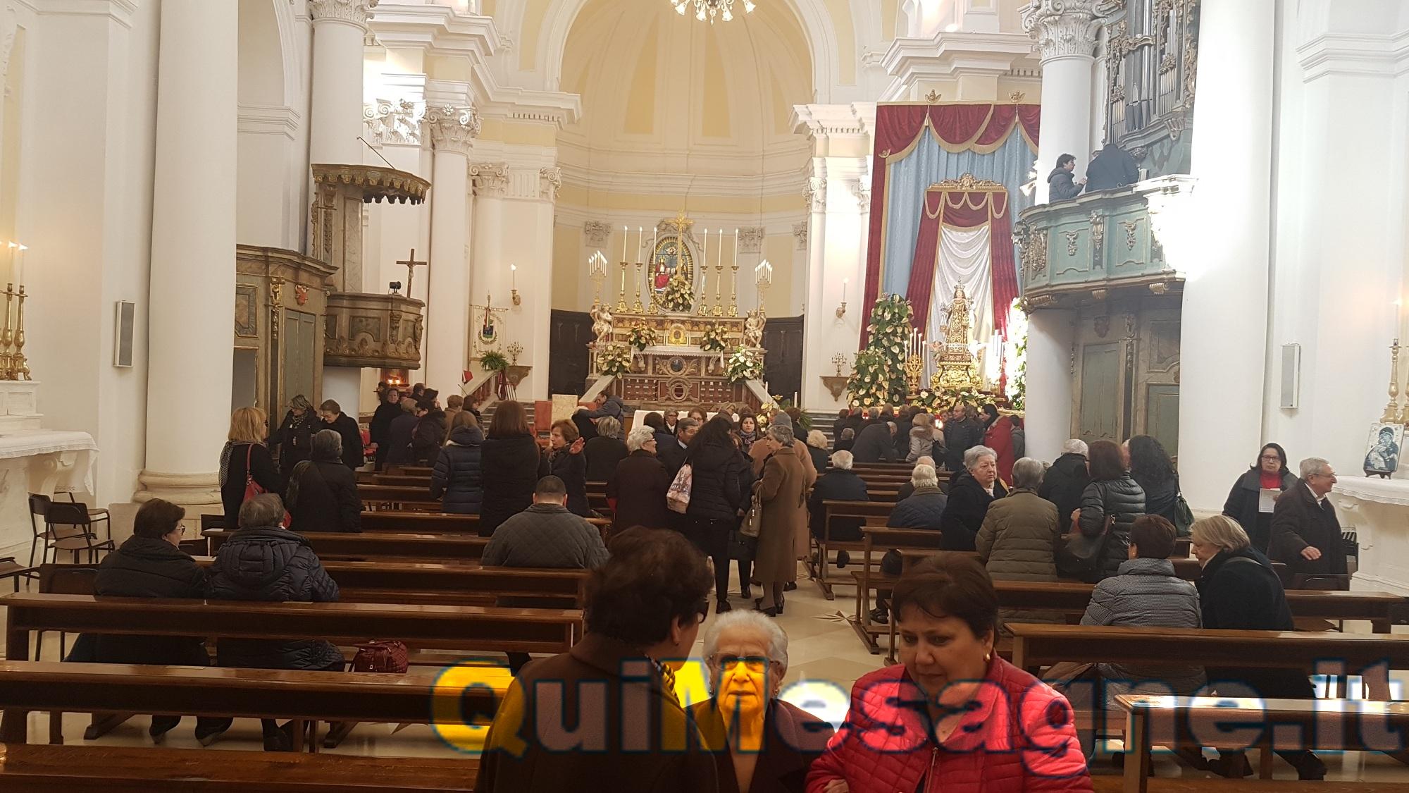 Festa del Patrocinio Madonna del Carmine – Celebrazione conclusiva – Diretta streaming dalle 16,00