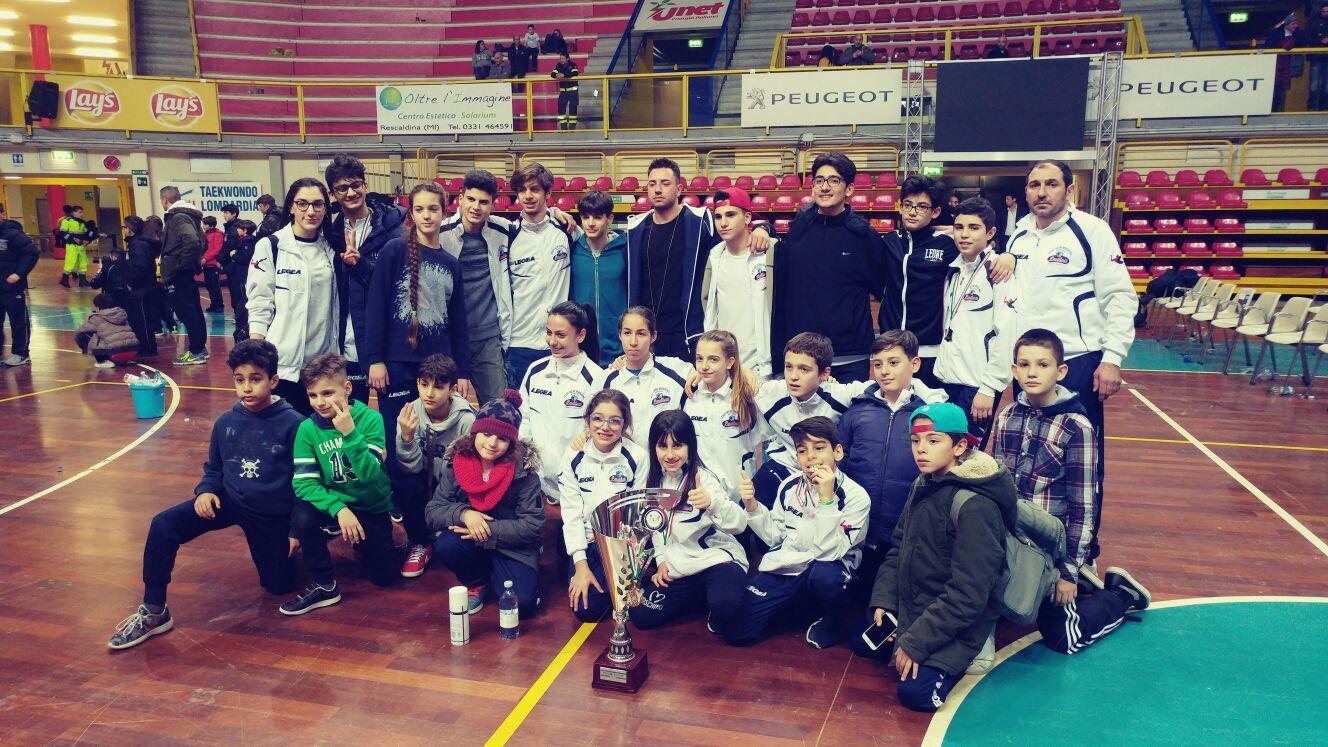 Taekwondo, la New Marzial di Mesagne è ancora una volta la prima società in Italia