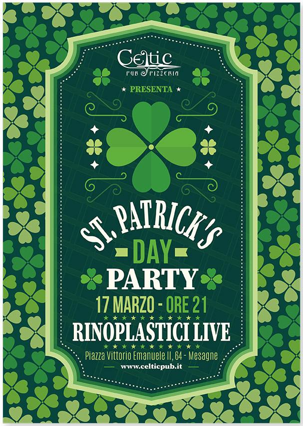 St. Patrick's day – RinoPlastici LIVE al CELTIC PUB di Mesagne