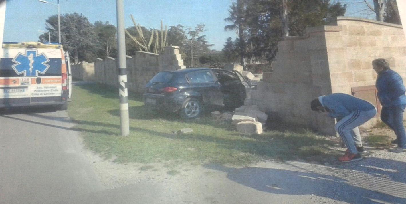 Pauroso incidente sulla provinciale per Latiano