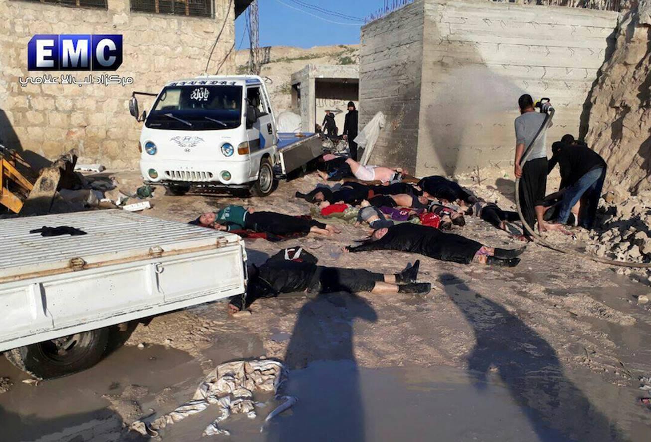 Siria attacco con i gas, Mesagne può dare un segnale pubblico di indignazione