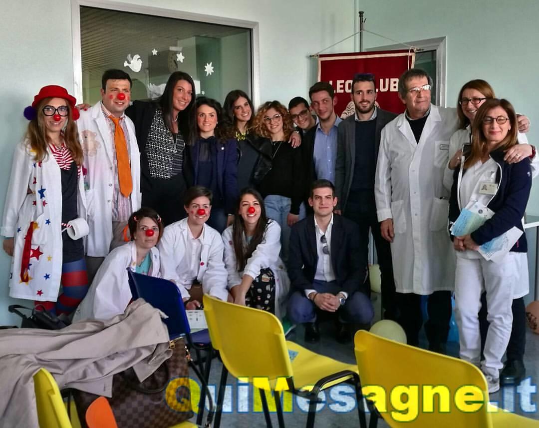 """Consegnato il kit """"Leo4Children"""" al reparto Pediatria del Perrino di Brindisi"""
