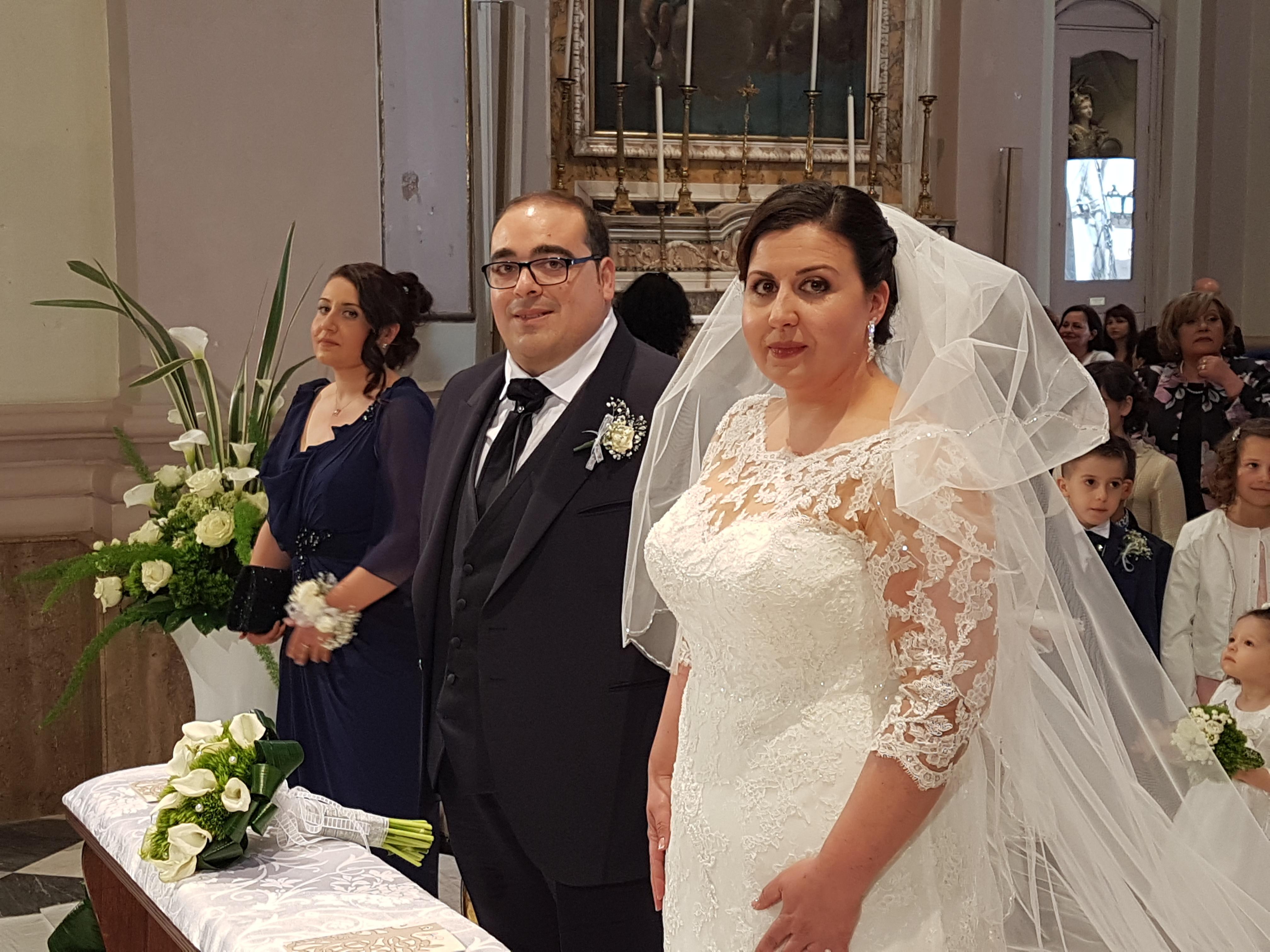 QuiMesagne in festa, Ivano e Antonella si sposano: auguri amici