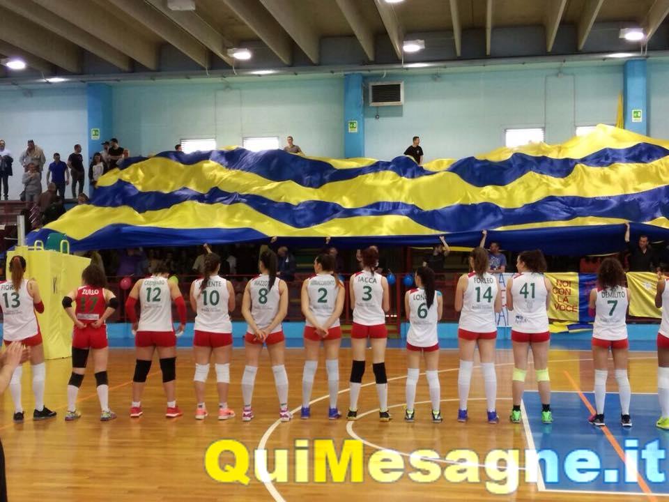 Mesagne Volley, la partita di ieri è il primo passo verso un sogno