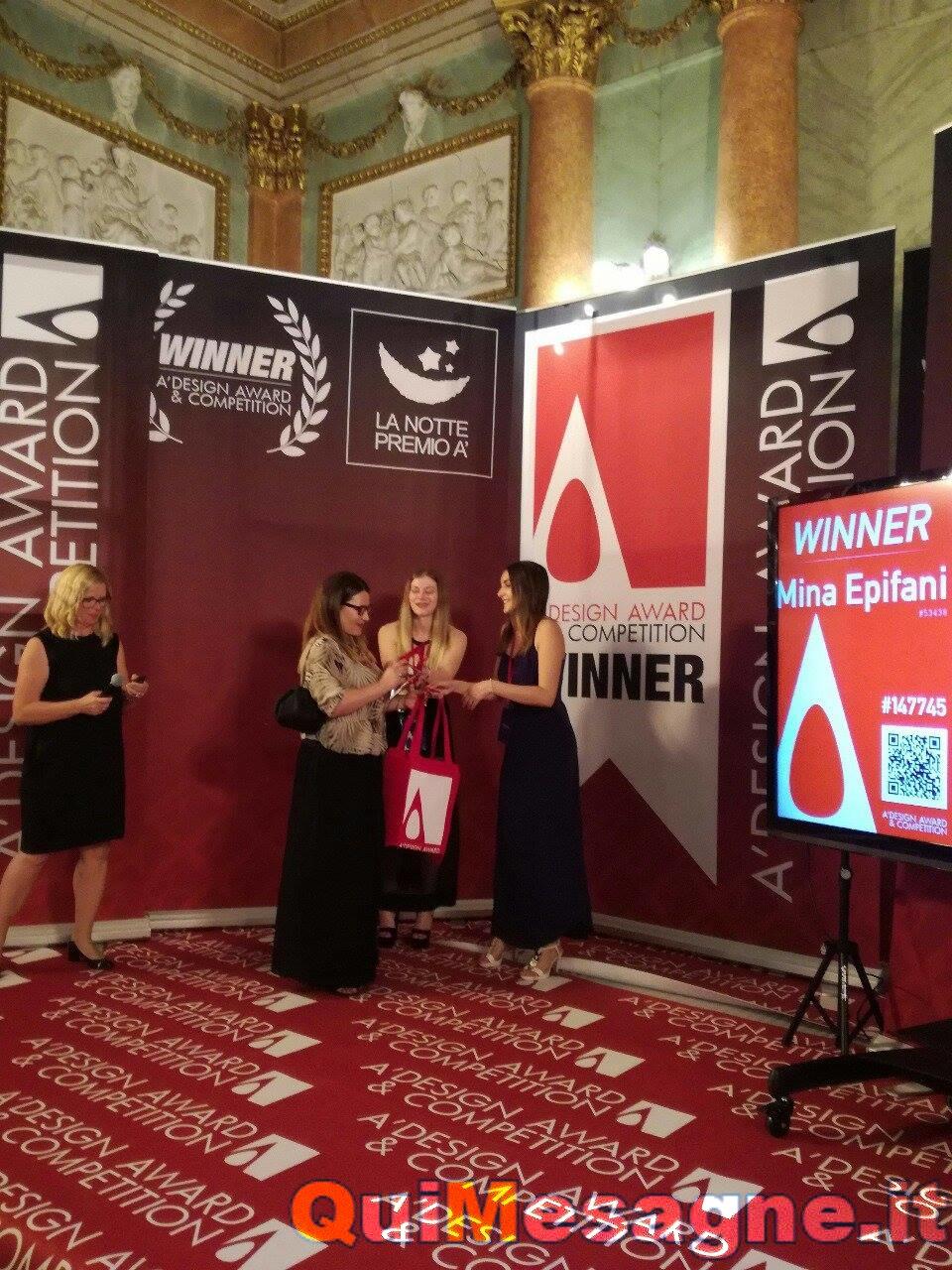Prestigioso riconoscimento internazionale per la mesagnese Mina Epifani