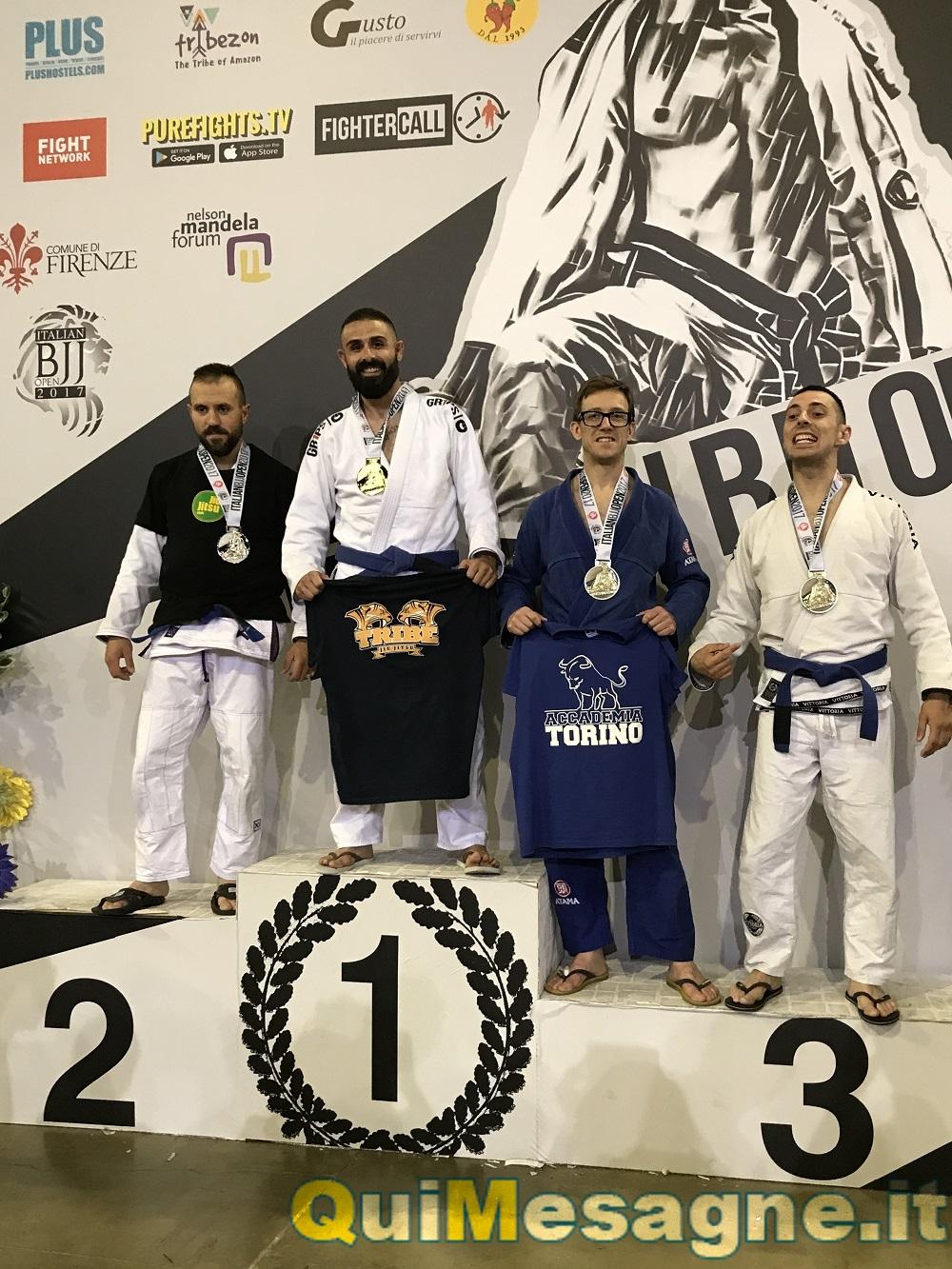 Il mesagnese Giuseppe Resta campione di Brazilian jiu jitsu