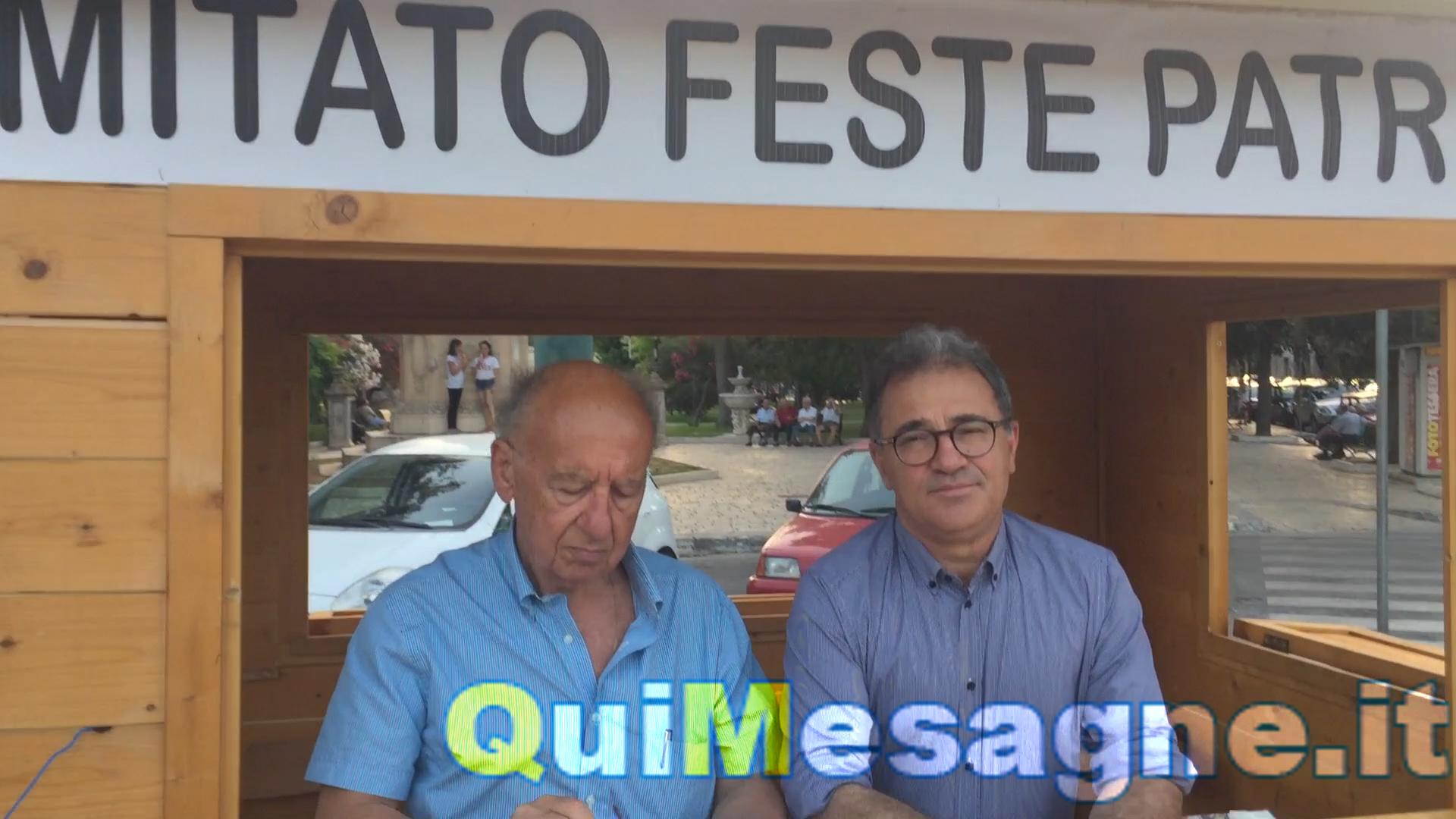 """Appello Sindaco e presidente Comitato Festa Patronale per """"Madonna di Luglio"""" – VIDEO"""
