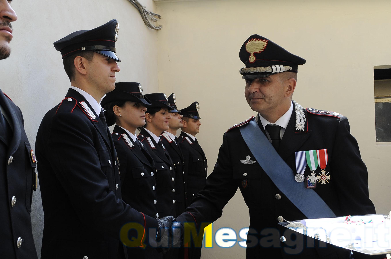 Macerata, encomio solenne per il Carabiniere mesagnese Sergio Dimaggio